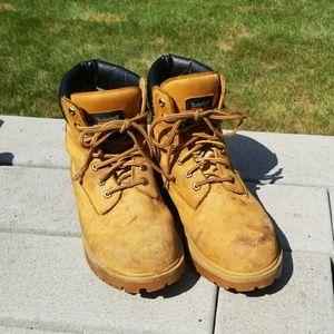 Size 10 Timberland Pro Soft Tie Weatherproof Boots